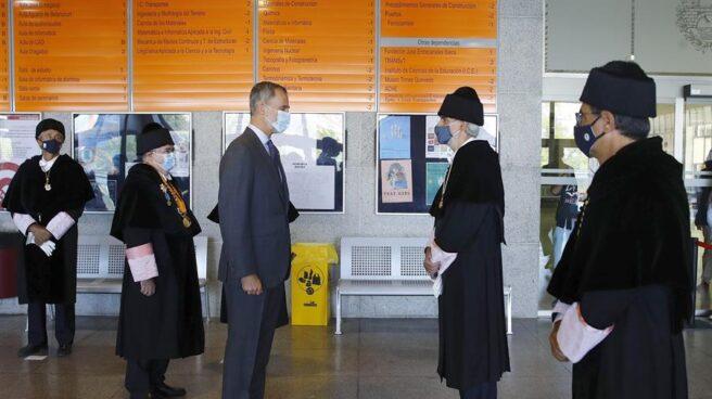 Felipe VI, en la apertura del año universitario.