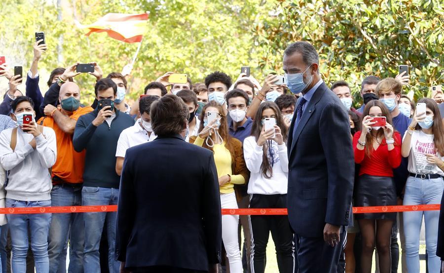 Felipe VI, este miércoles en la apertura del curso universitario.