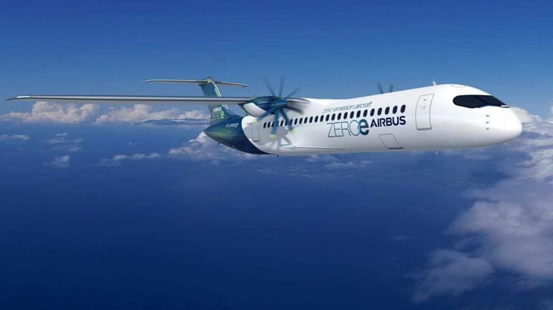 Airbus presenta tres diseños de aeronaves propulsadas por hidrógeno — Cero emisiones