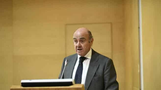 El vicepresidente del Banco Central Europeo (BCE), Luis de Guindos.