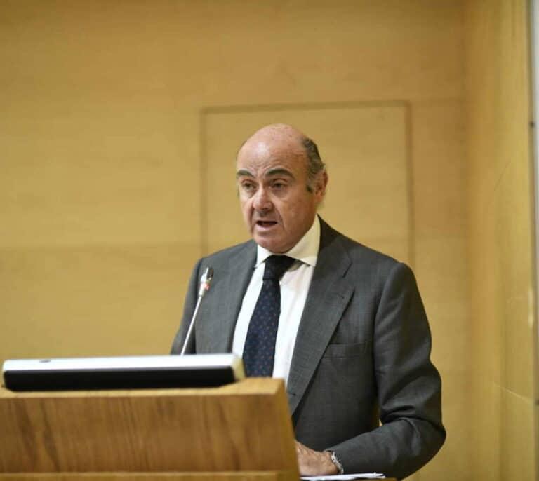 Guindos (BCE) alerta sobre la sostenibilidad de las cuentas de España a medio plazo