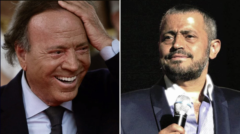 Julio Iglesias y George Wassouf.