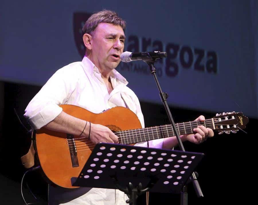 El cantautor aragonés Joaquín Carbonell.