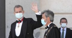 """El Rey dice que le """"hubiese gustado"""" poder estar en Barcelona en el acto de los jueces"""
