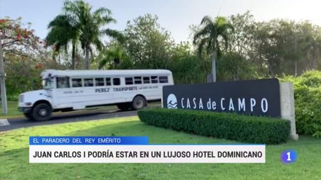 Cobertura de TVE en República Dominicana el pasado mes de agosto.