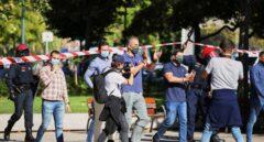 Dos detenidos por un ataque a una mesa informativa de Vox en Santurce