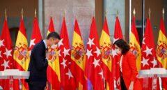 """Las exigencias de Ayuso a Sánchez: fondos europeos, un plan de natalidad y """"no tocar"""" los impuestos en Madrid"""