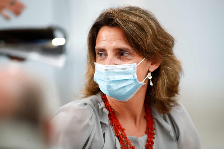 La vicepresidenta del Gobierno y ministra para la Transición Ecológica, Teresa Ribera.