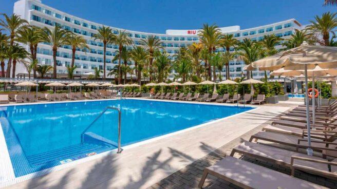 El hotel Riu Palace Palmeras, en Gran Canaria.
