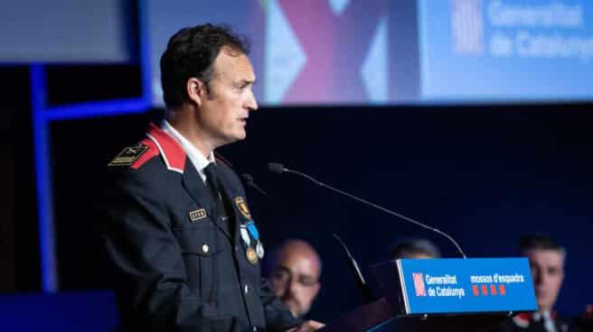 Eduard Sallent, comisario jefe de los Mossos d'Esquadra.