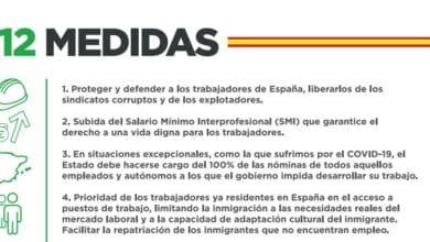 Solidaridad, el sindicato de Vox: subida del SMI y trabajadores españoles primero