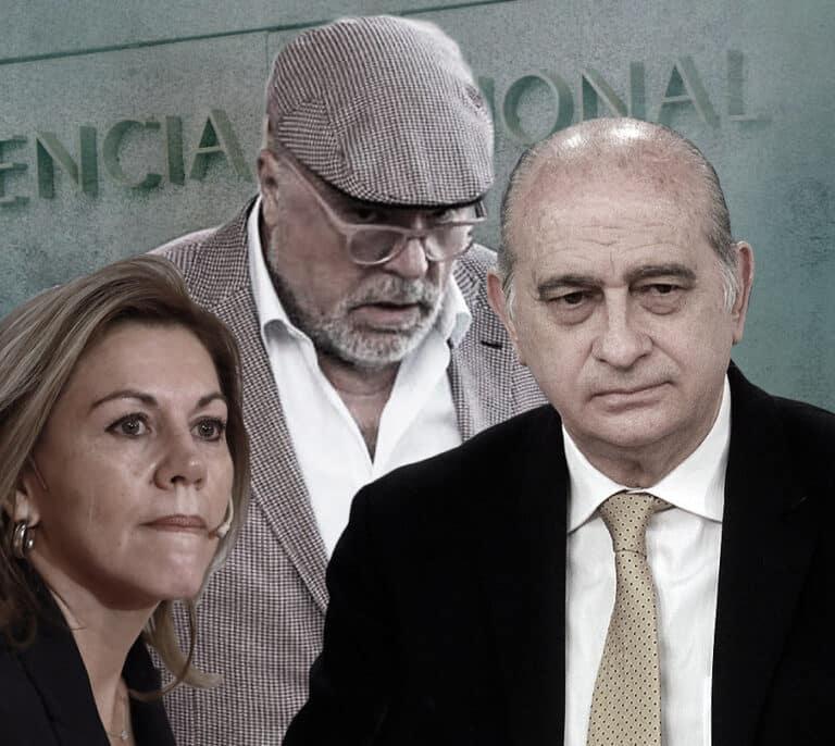 """Fernández Díaz y Cospedal, último capítulo de la guerra de las """"cloacas policiales"""""""