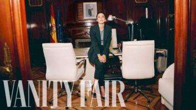 Montero en Vanity Fair, «Mis hijos comen con las manos»