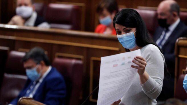 Sesión de control al Gobierno: la portavoz de Vox, Macarena Olona.