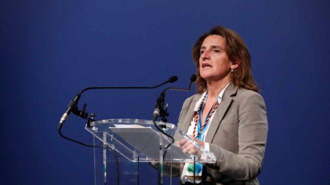 La ministra para la Transición Ecológica del Gobierno de España Teresa Rivera, en la COP25.