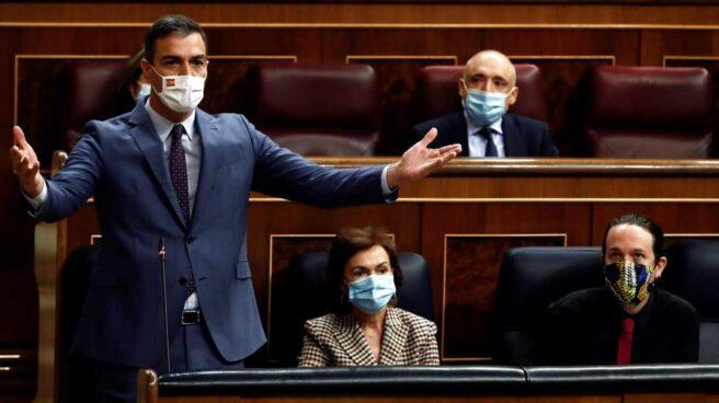 Sesión de control al Gobierno: Pedro Sánchez, en el Congreso.