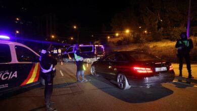La Policía Nacional denunció a 200 personas y detuvo a 4 en Madrid tras las nuevas restricciones