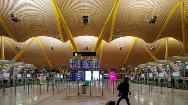 Aeropuerto de Madrid-Barajas Adolfo Suárez.