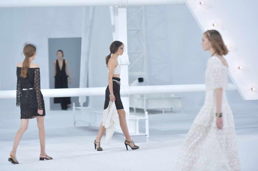 El desfile de Chanel fue uno de los más esperados de la semana de la moda