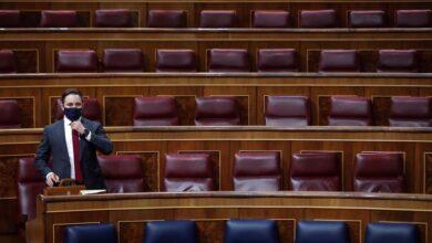 Abascal enumera en el Congreso los nombres de las más de 800 víctimas de ETA