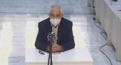 José Antonio López Ruiz, alias 'Kubati', durante su declaración en la Audiencia Nacional.