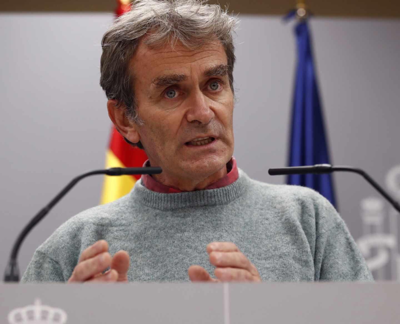 El director del Centro de Alertas y Emergencias Sanitarias, Fernando Simón.