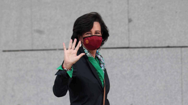 Ana Botín llega a la Audiencia Nacional para declarar como testigo por el 'caso Popular'
