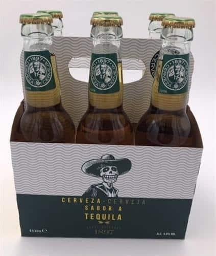 Cerveza con sabor a tequila