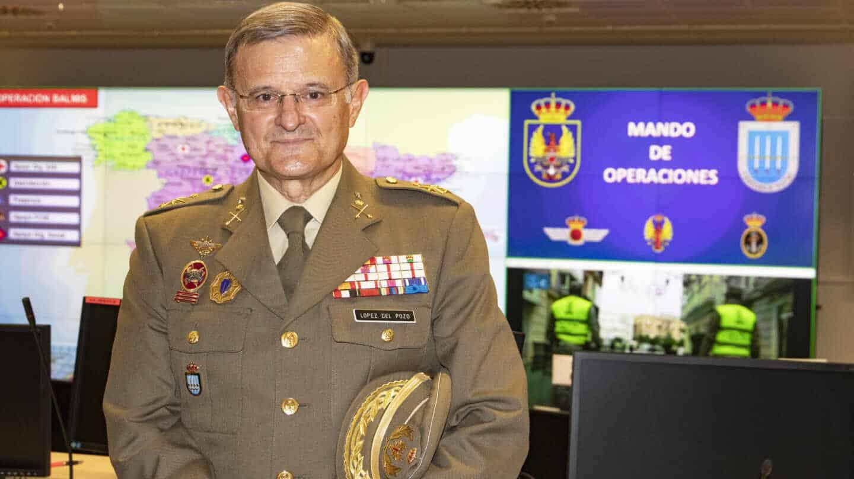 Fernando López del Pozo, teniente coronel al frente del Mando de Operaciones durante la Operación Balmis