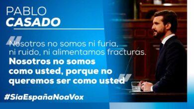 """El PP lanza su campaña en redes contra la moción: """"Sí a España, no a Vox"""""""