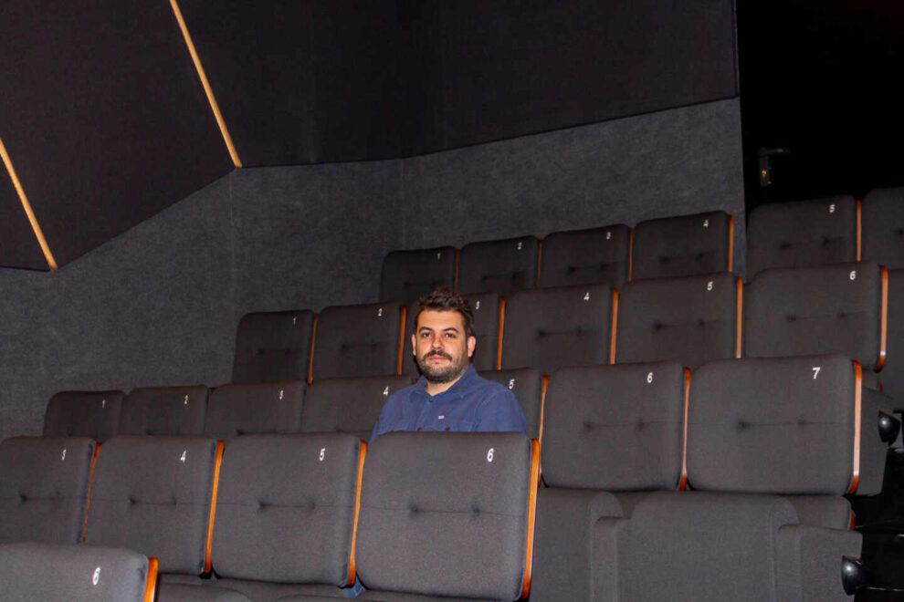 Fernando García Lobo en los Cines Embajadores.