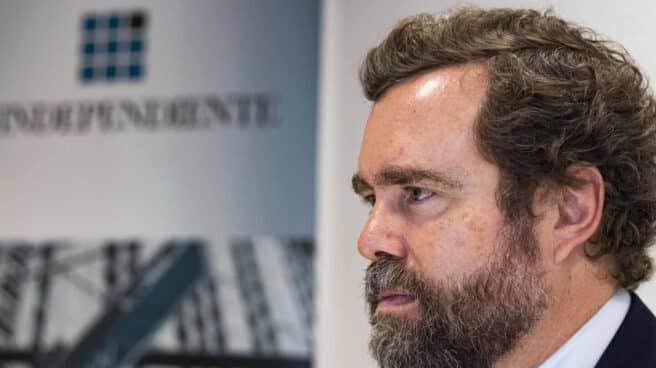 Espinosa de los Monteros, durante la entrevista en la redacción de El Independiente
