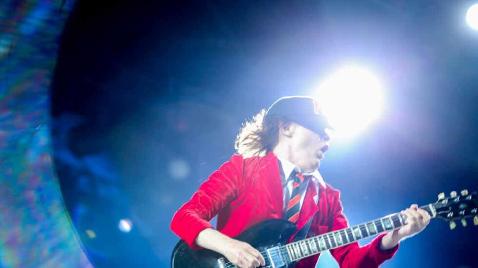 AC/DC en el concierto de Sevilla.