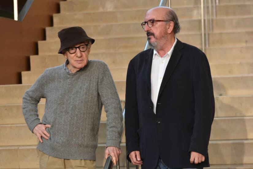Woody Allen y Jaume Roures