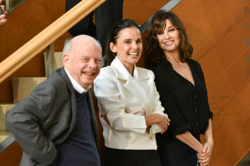 Wally Shawn, Elena Anaya y Gina Gershon