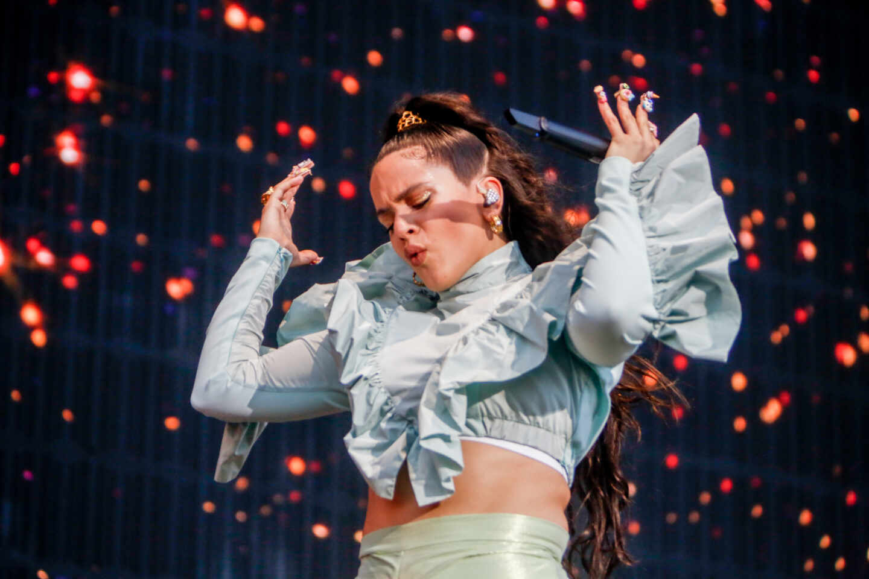 Rosalía en el Mad Cool Festival.
