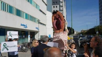 Comienza el juicio por la procesión de la vagina de plástico en Málaga