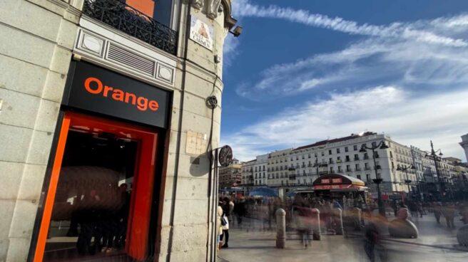 Tienda de la compañía telefónica Orange.