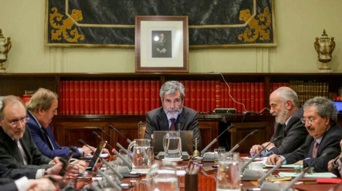 El CGPJ se revuelve contra el pacto entre PSOE y Podemos para ignorar su opinión