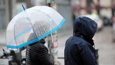La borrasca Bárbara pone en alerta naranja a media España: lluvia y vientos de 100 km/h