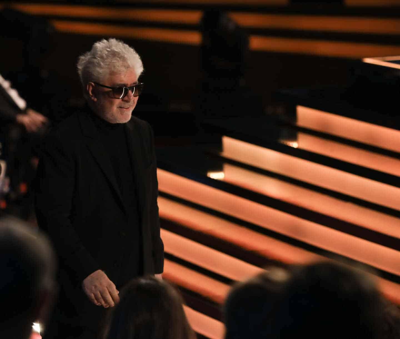 Pedro Almodóvar en los Premios Goya.