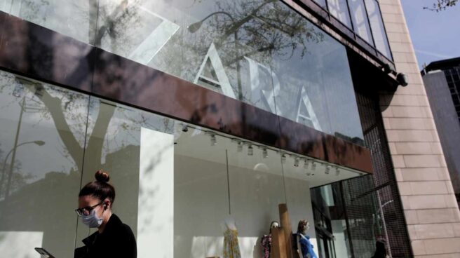 Escaparate de Zara,