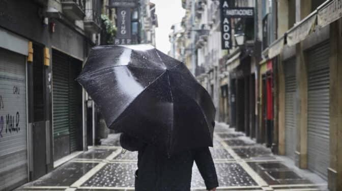 Un tren de borrascas dejará lluvias y subirá las temperaturas en buena parte del país