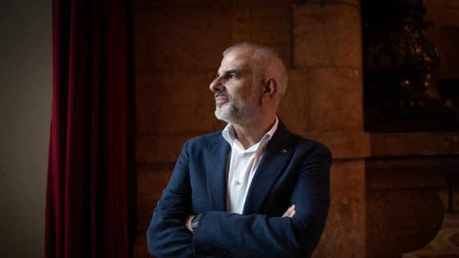 El líder de Ciudadanos en el Parlament de Cataluña, Carlos Carrizosa.