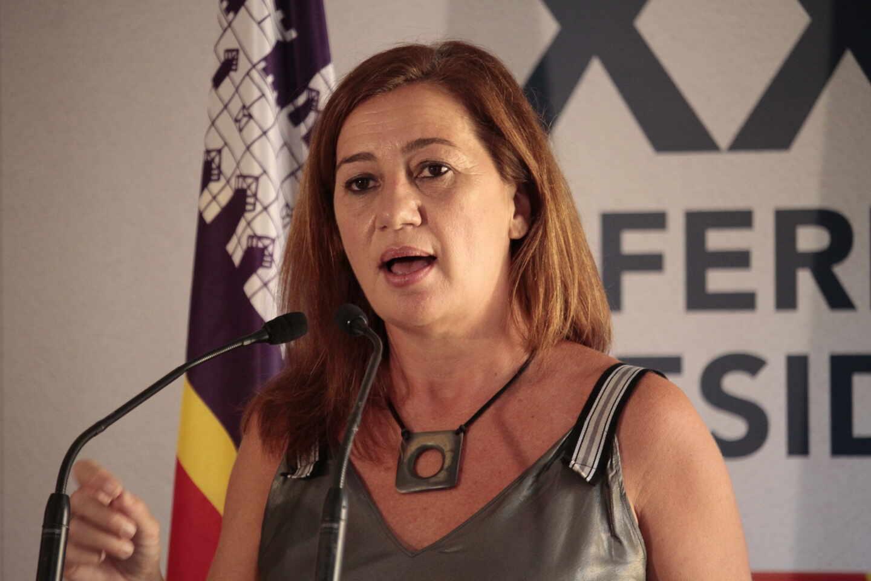 La presidenta de las Islas Baleares, Francina Armengol.