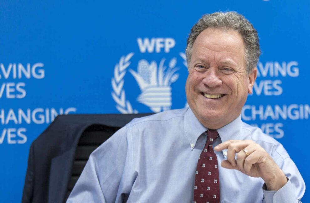 El directoror del Programa Mundial de Alimentos (WFP), David Beasley en una rueda de prensa.