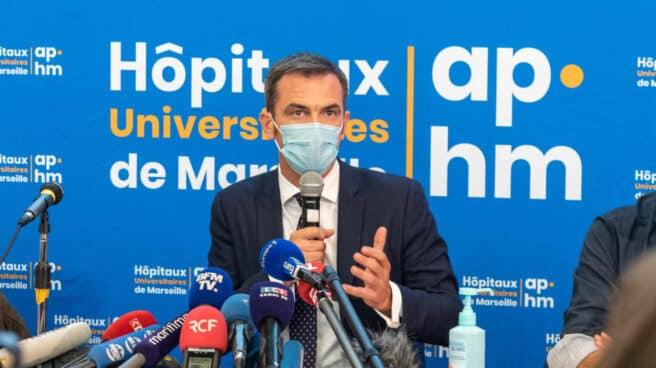 El actual ministro de Salud francés, Olivier Véran.