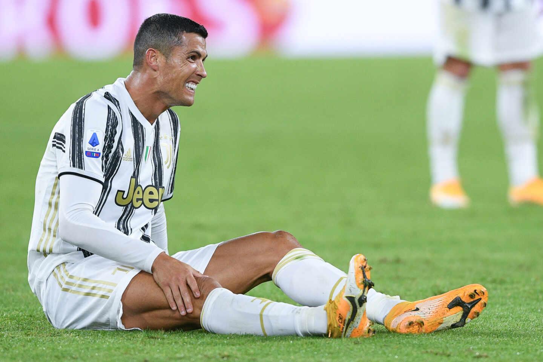 Cristiano Ronaldo con la Juventus.