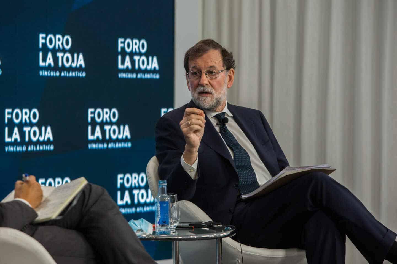 El ex presidente del Gobierno, Mariano Rajoy, en una imagen de archivo.