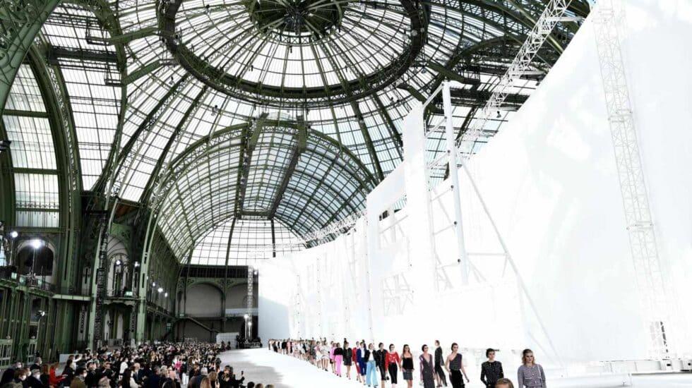 Chanel emuló el famoso cartel de Hollywood
